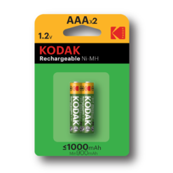Kodak AAA επαναφορτιζόμενες μπαταρίες x2