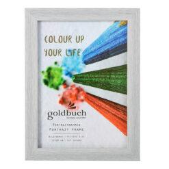 Goldbuch Color Up κορνίζα ΓΚΡΙ ΛΕΥΚΟ