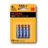 Kodak AAA αλκαλικές μπαταρίες x4 pack