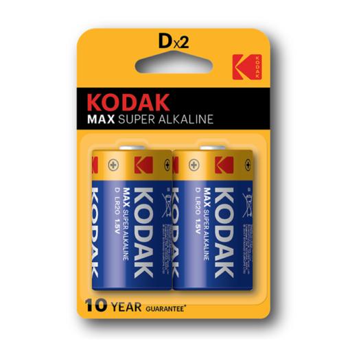 Kodak Max αλκαλικές D x2